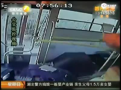 公交司机被用灭火器无故殴打47下 昏迷26天离世