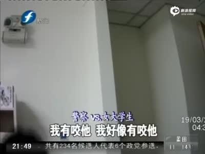 台中男子全裸闯女生宿舍猥亵 躲进女厕被抓