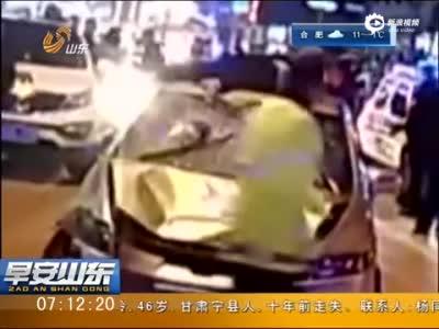 监拍税务所司机车顶女尸逃逸 受访曝惊人之语