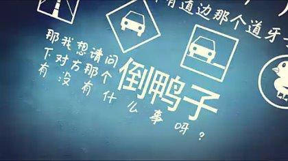 chinese kinetic typography 倒鸭子理赔动画
